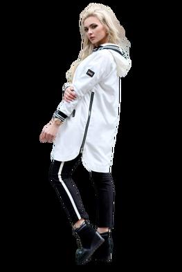 Kurtka Artic biała Norbi Exclusive