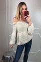 s.Moriss sweter Anabel krótki jasny beż (5)
