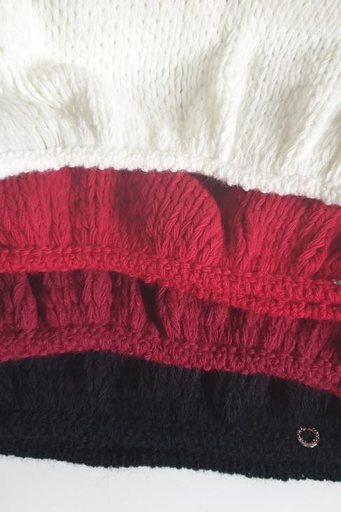 s.Moriss sweter Anabel długi czerwony (1)