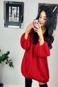 s.Moriss sweter Anabel długi czerwony (4)