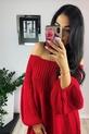 s.Moriss sweter Anabel długi czerwony (3)