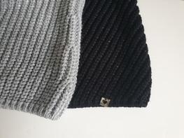COCOMORE Sweter BARELLA czarny srebrny