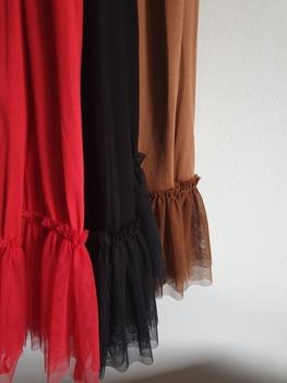 Made in Italy sukienko - halka czerwona