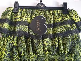 Lola Fashion bluzka hiszpanka panterka zielona