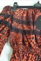 Lola Fashion bluzka hiszpanka panterka pomarańczowa (7)