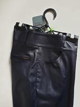 Sigma for You Spodnie woskowane granatowe