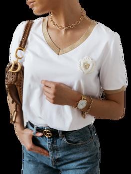 COCOMORE Bluzka Golden biała