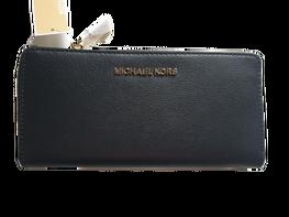 MICHAEL KORS Portfel black duży suwak