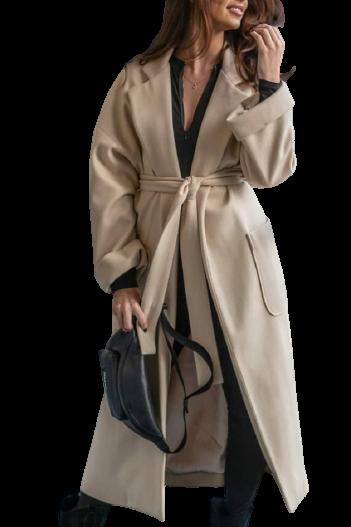 LALU Płaszcz PREMIUM beżowy (1)