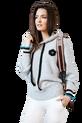 COCOMORE sweterek miękki szary z kapturem (1)