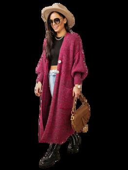 COCOMORE sweter różowy melange