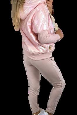 MI...MI Kurtka bomberka cameleon róż limited edition