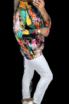 MI...MI Bluza EVE oversize multicolor