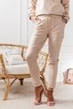 COCOMORE Spodnie Rita pudrowe beżowe (2)