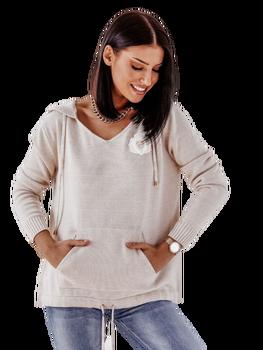 Cocomore GYM Sweterkowa Bluza beżowa