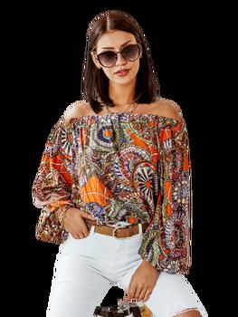 Cocomore bluzka hiszpanka Agava pomarańczowa